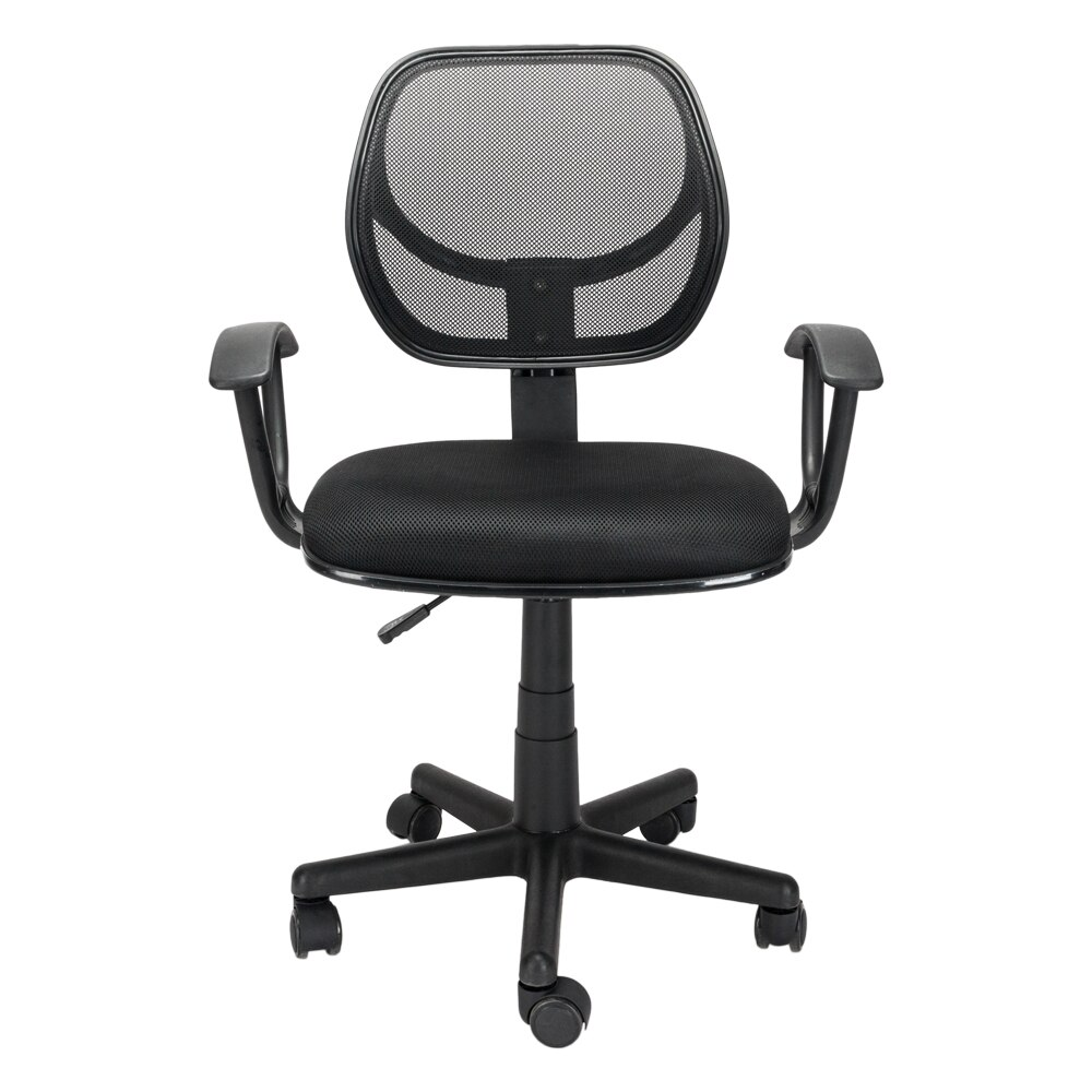 H02aa90332ded4d68a38f03eeed8310753 - Home Office Chair Household Armchair Lift and Swivel Function Office Computer Study Chair Leisure Mesh Chair-Reclining