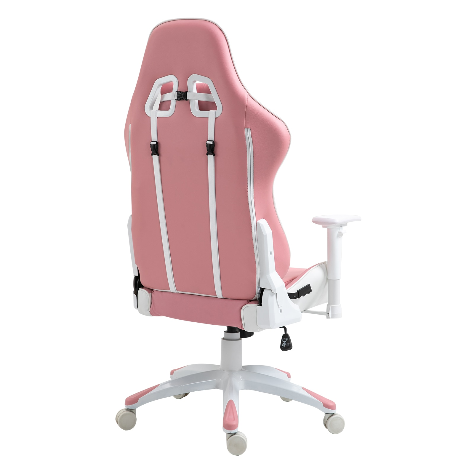 H02afc64b7be645ae9ea5981413123dd8e - Sigtua Pink Gaming Office Chair Height-adjustable Armrests Computer Chair Ergonomic Swivel Executive Chair with High Backrest