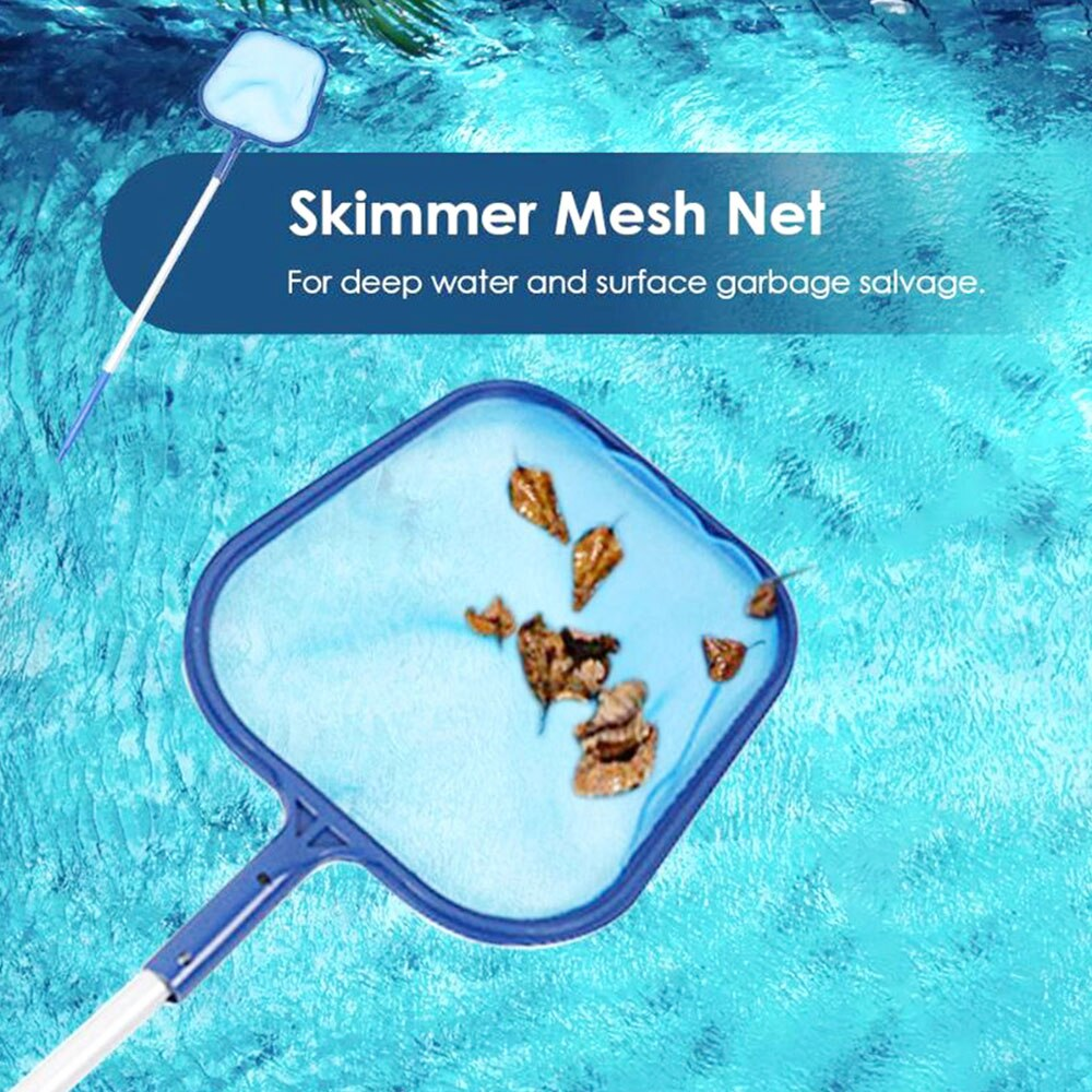 H07a2f53071b24599bc92f2a8fbe9e3d6J - Swimming Pool Vacuum Cleaner Cleaning Tool Kit Suction Spary Jet Cleaner Head with Net for Swimming Pool Spa Pond Fountain