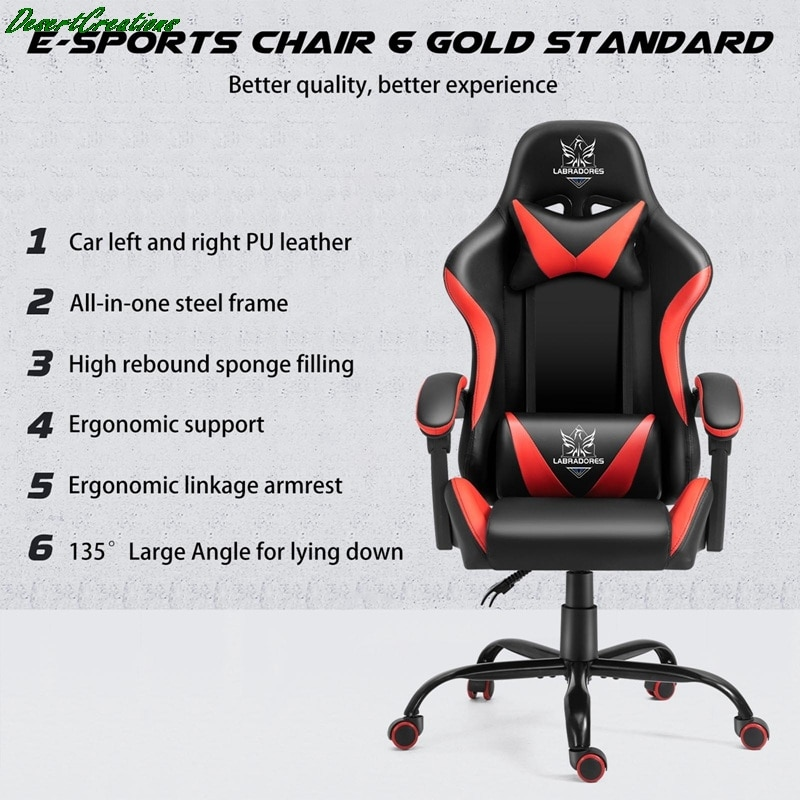 H0a583d2b2fae4288a892cdf7fc6eb5a8r - Free Shipping Professional Computer Chair Rotatable Internet Cafe Racing Chair WCG Gaming Chair Office Chair
