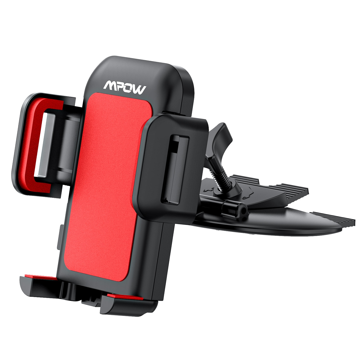 H0d7dc2dc930c45a98dfe949526246809P - Mpow 051 Car Phone Holder CD Slot Car Phone Mount with Three-Side Grip and One-Touch Design for iPhone 12/12Mini/12Pro/12Pro Max