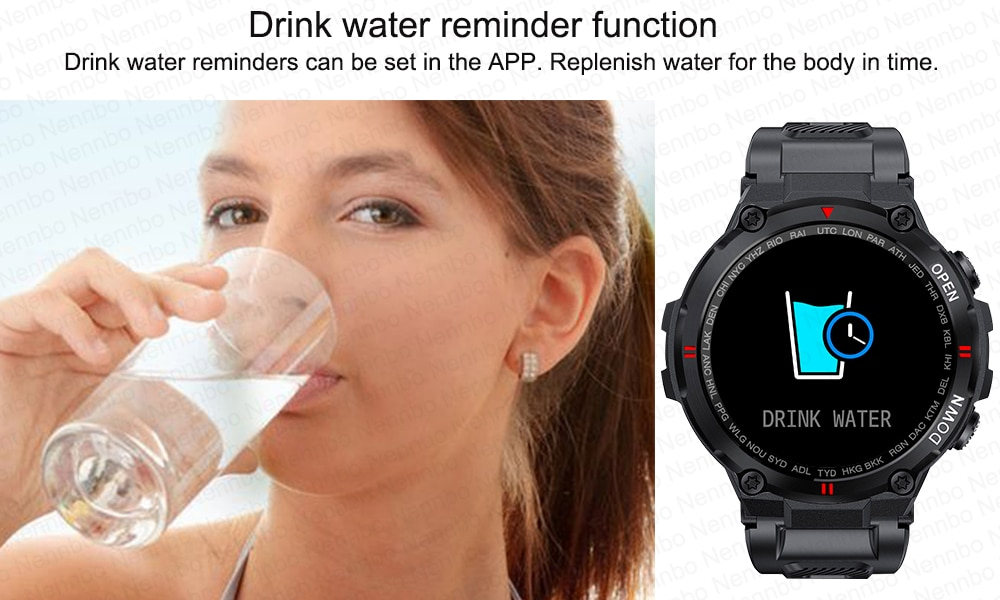 H10f333a72eb9447999dde1554af2ba049 - 2021 New Smart Watch Men Sport Fitness Bluetooth Call Multifunction Music Control Alarm Clock Reminder Smartwatch For Phone