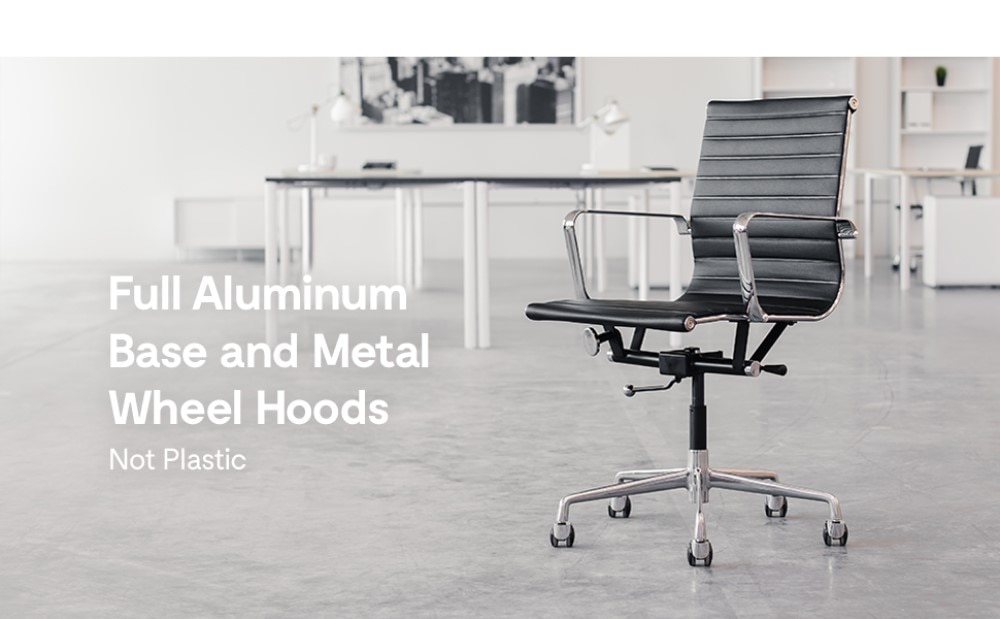 H14cc30ecef2a4aa4b261b758930fc810r - High Back Aluminium Group Office Chair Replica Swivel Chair with Armrests Chromed Base Gaming Chair for Office Meeting Room