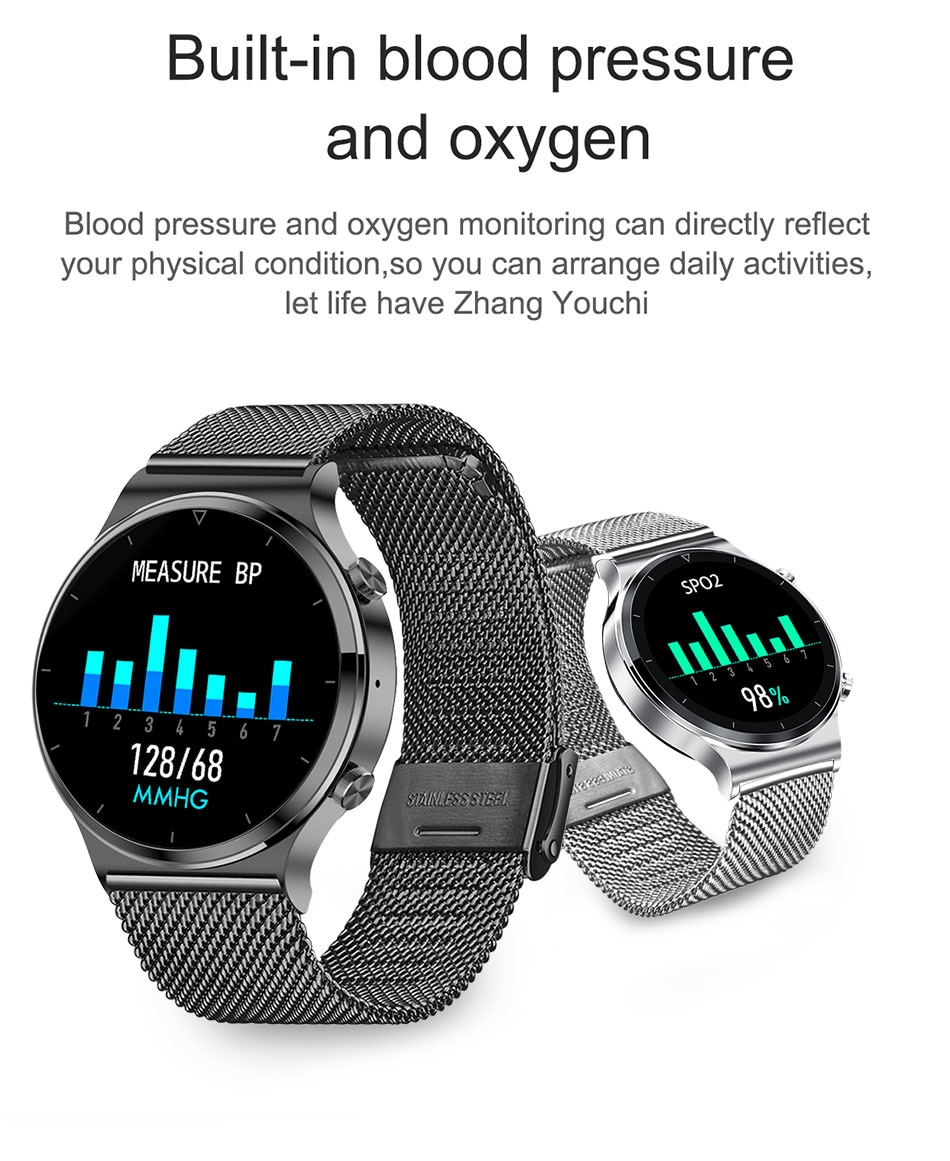 H1514c29c97c24b44af00a78e0f0373cdi - LIGE New Smart watch Men Heart rate Blood pressure Full touch screen sports Fitness watch Bluetooth for Android iOS smart watch