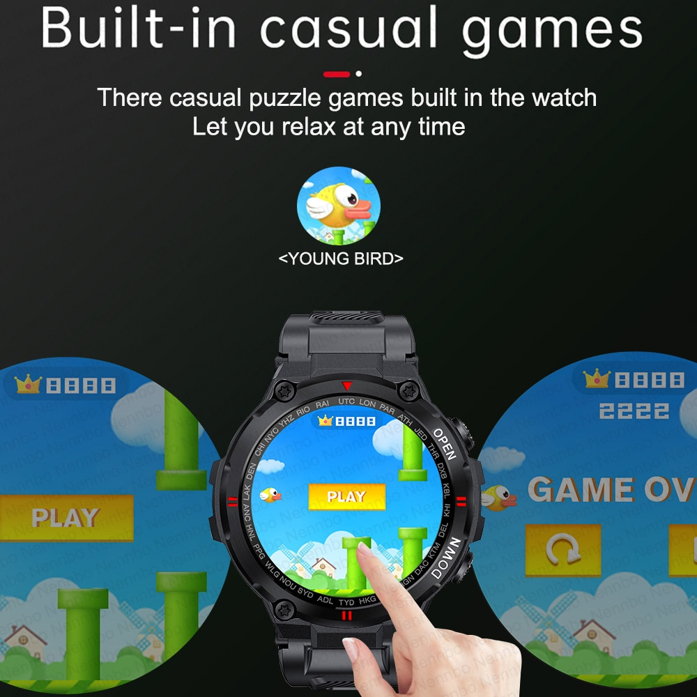 H196d22993dff4b5d96f9c2c3a7ecb92aU - 2021 New Smart Watch Men Sport Fitness Bluetooth Call Multifunction Music Control Alarm Clock Reminder Smartwatch For Phone