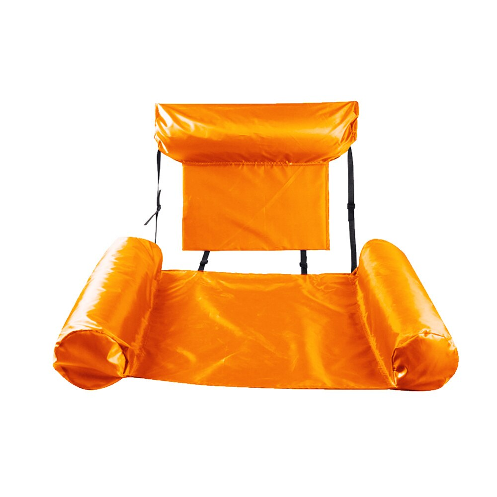 H19c90a8f90f442ba9465f1d1dcbcd483T - Inflatable Foldable Floating Row Backrest Air Mattresses Bed Beach Swimming Pool Water Sports Lounger float Chair Hammock Mat
