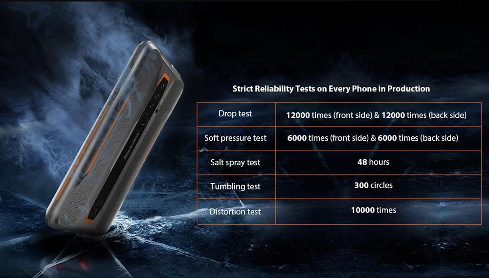 H1a88bd5ed92b4fa98320f0968b71eca1U - BLACKVIEW BV6300 Pro Helio P70 6GB 128GB Smartphone 4380mAh Android 10 Mobile Phone Quad Camere NFC IP68 Waterproof Rugged Phone