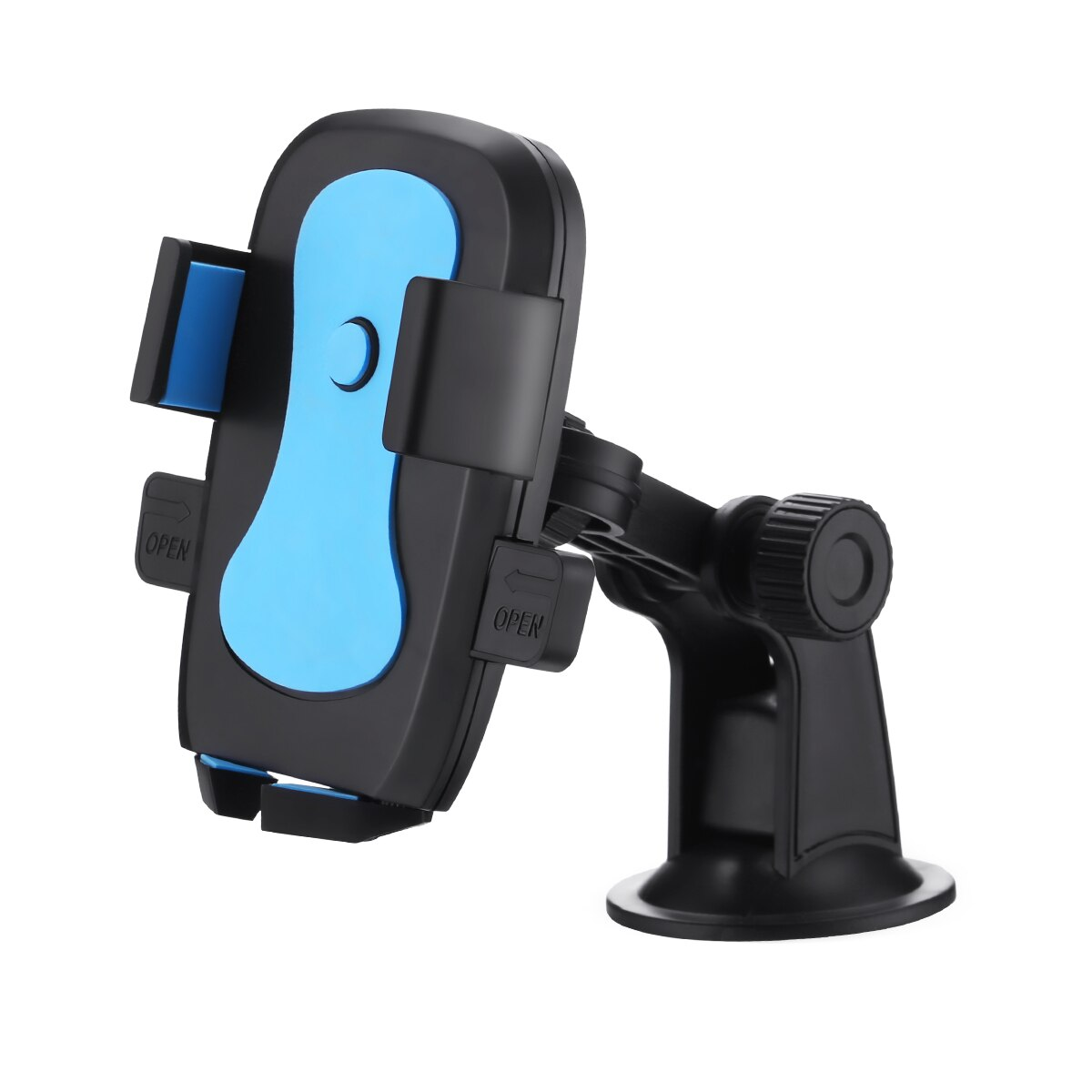 H1d32f8fc41694cc0ae0eee14c1f882610 - 360 Degree Rotatable Car Phone Holder For 2.4 to 3.4inch Phone Mount Stand in Car Bracket For Poco x3 pro iPhone Xiaomi Samsung