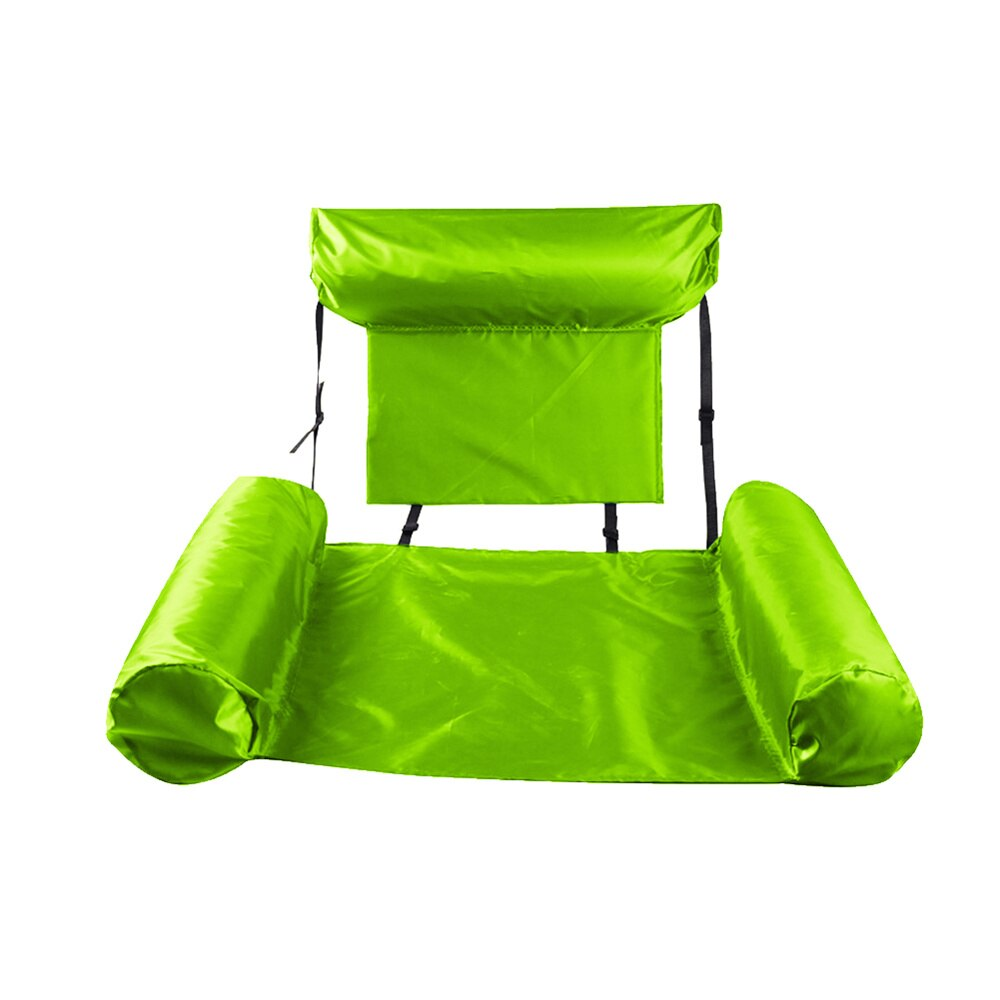 H1fda7576b7184ba7a37bd339d13a983dH - PVC Summer Inflatable Foldable Floating Row Swimming Pool Water Hammock Air Mattresses Bed Beach Water Sports Lounger Chair