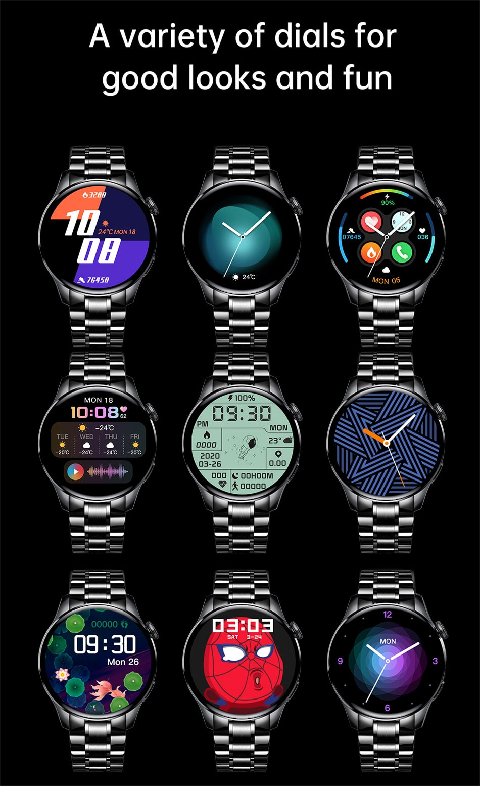 H23785249cd3a485a94b9ce16fb8ecc9eI - LIGE New Bluetooth Call Smart watch Men Full touch Screen Sports fitness watch Bluetooth is Suitable For Android ios Smart watch