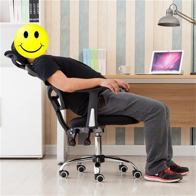 H25d7af6a756d43dcb7c69791a8f3b227a - Home Office Chairs Household Armchairs Office Desks Computer Study Chair Leisure Mesh Chair-Reclining Home Office Furniture