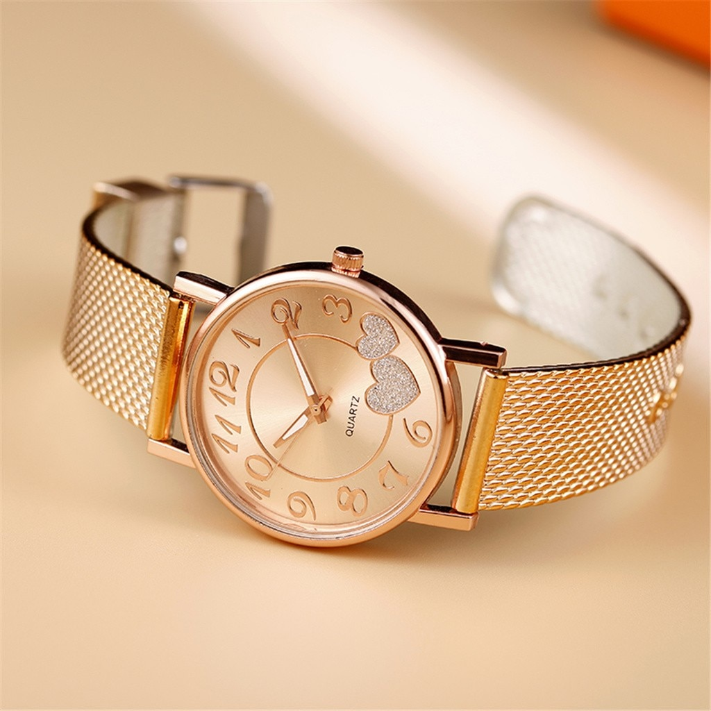 H27f75c4fbb3b4c9f8dbebda7f2e761f6I - Ladies Mesh Belt Watch Wild Lady Creative Fashion Gift The Latest Top Fashion Men's Business Watch Gift watches for ladies часы