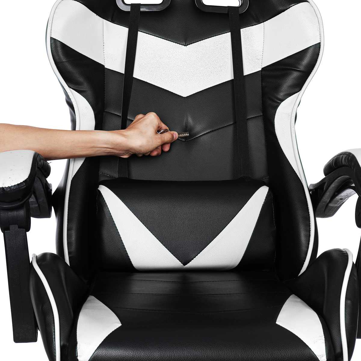 H2a4646a9905b409b8be96474191a126df - Office Gaming Chair PVC Household Armchair Lift and Swivel Function Ergonomic Office Computer Chair Wcg Gamer Chairs