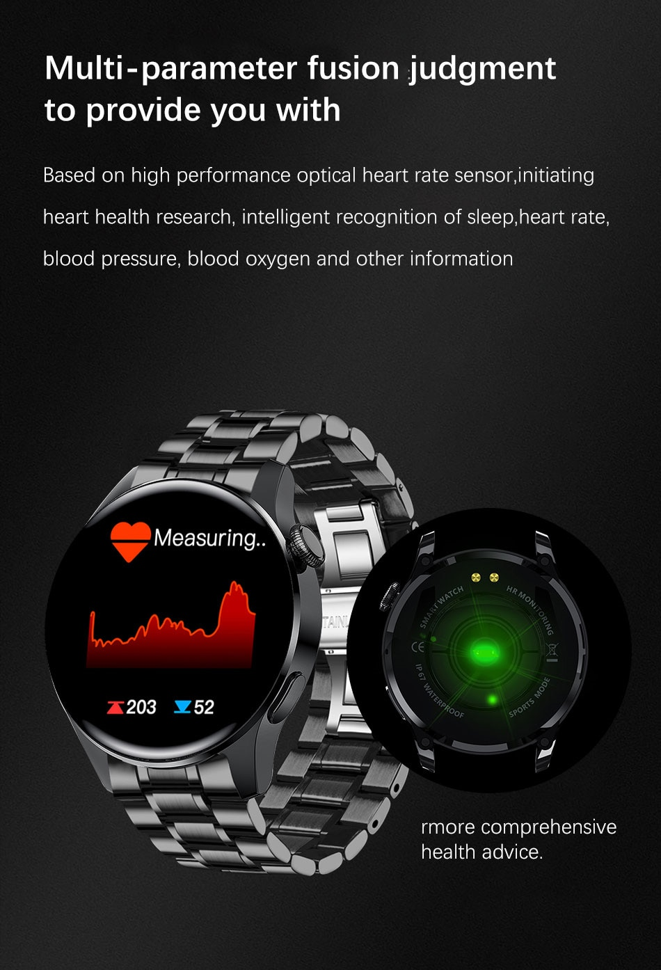 H2c73076b46c94bbd8c7990916e6eed02r - LIGE New Bluetooth Call Smart watch Men Full touch Screen Sports fitness watch Bluetooth is Suitable For Android ios Smart watch