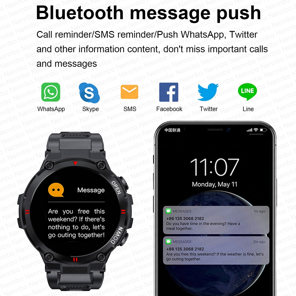 H3005ec9a56b64f46bf68a07bf2cff2c96 - 2021 New Smart Watch Men Sport Fitness Bluetooth Call Multifunction Music Control Alarm Clock Reminder Smartwatch For Phone