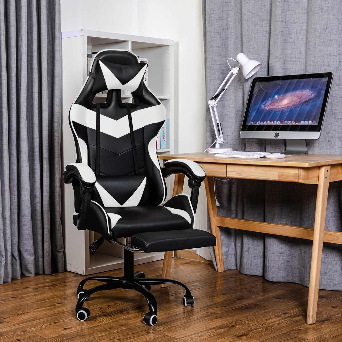 H3474dc5d6eb24dfea4235af5028afb10z - Office Chair Gaming Computer Chair Racing Reclining High Back Computer Game Office Chair Ergonomic Desk Chairs Chaise Gaming