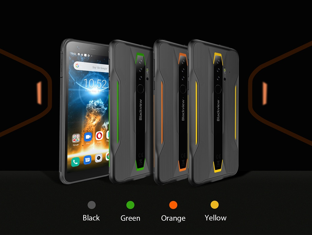 H357e9d23beac4b54b9af271c7f56ba55M - BLACKVIEW BV6300 Pro Helio P70 6GB 128GB Smartphone 4380mAh Android 10 Mobile Phone Quad Camere NFC IP68 Waterproof Rugged Phone