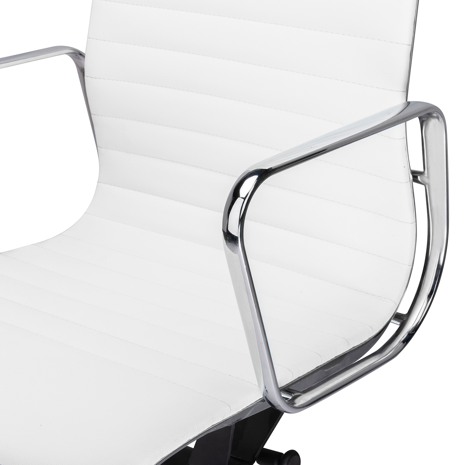 H37874f6969f14fd9bea0ff6c21573952E - High Back Aluminium Group Office Chair Replica Swivel Chair with Armrests Chromed Base Gaming Chair for Office Meeting Room