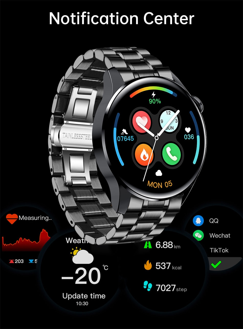 H380200d9b56741098579a400d783d465Z - LIGE New Bluetooth Call Smart watch Men Full touch Screen Sports fitness watch Bluetooth is Suitable For Android ios Smart watch