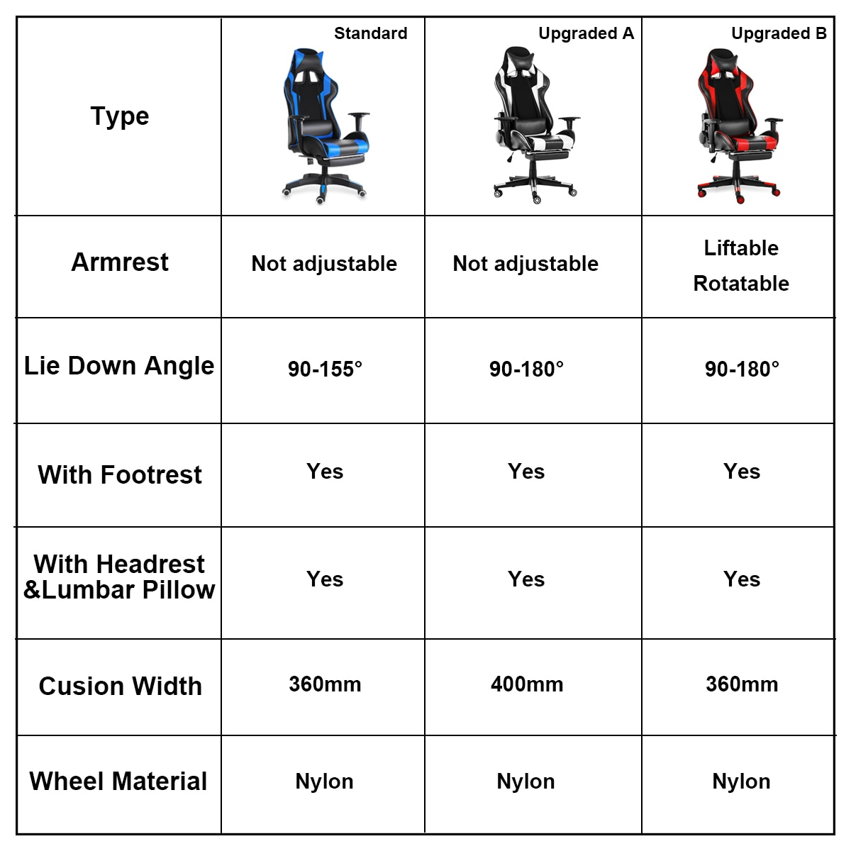 H381fc5152566429e8fdda9f869f8b554f - WCG Gaming Chair Computer Armchair Office Chairs Home Swivel Massage Chair Lifting Adjustable Desk Chair Lying Recliner Chair