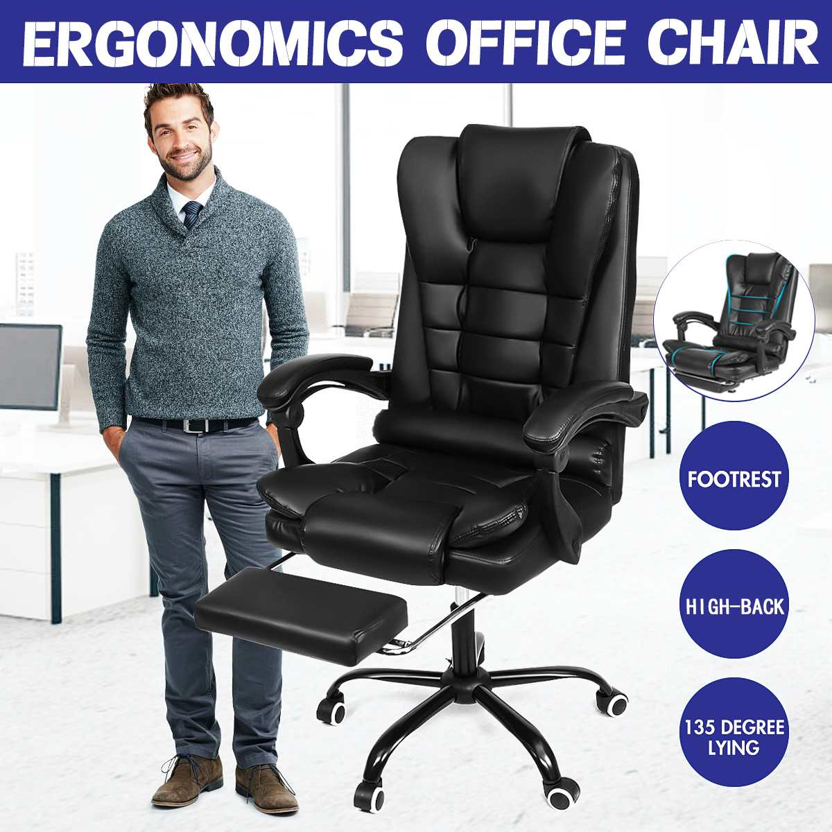 H38823e01842f4347ac7b475762e1ae78k - Office Chair WCG Computer Gaming Chair Reclining Armchair with Footrest Internet Cafe Gamer Chair Office Furniture Pink Chair