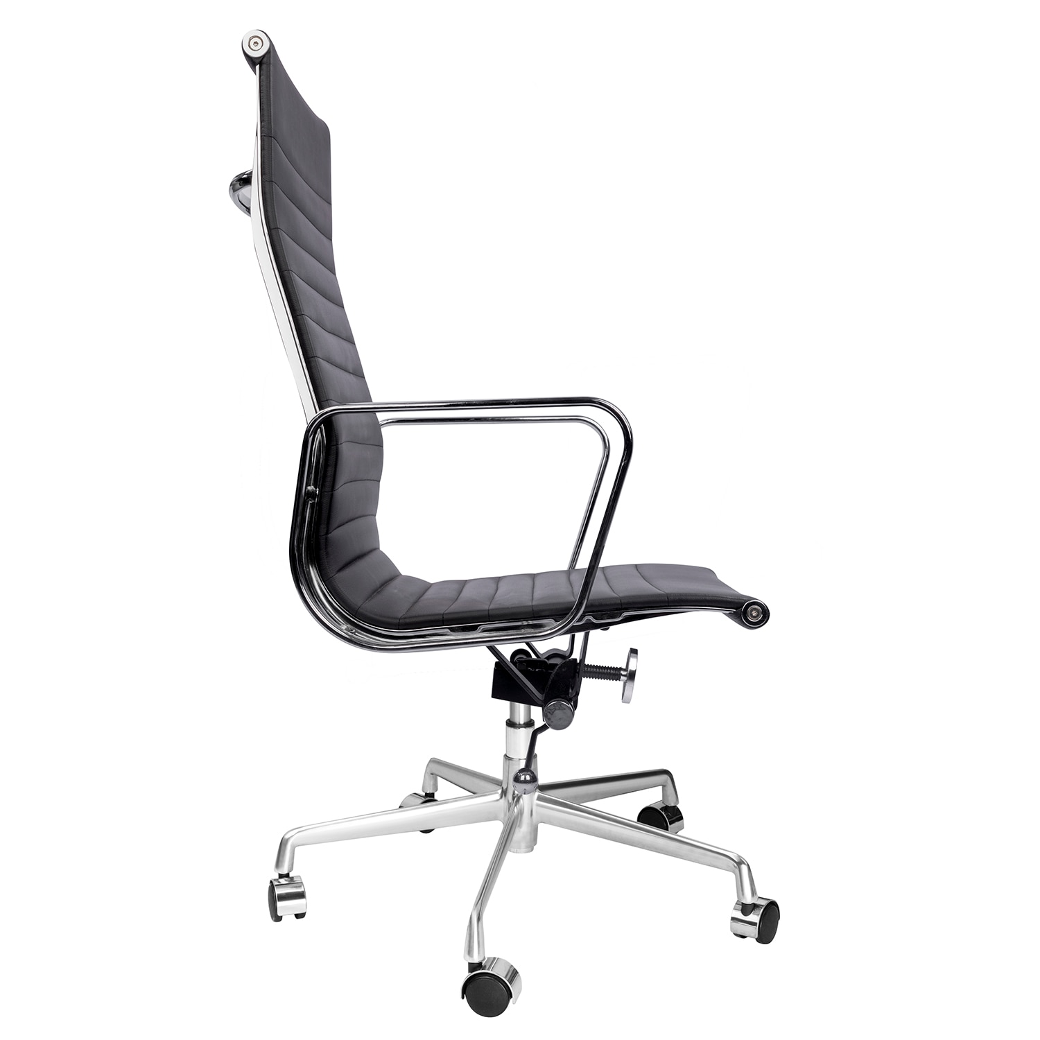 H3f39d093ed5b49ca9fe274045f6c9c5ai - High Back Aluminium Group Office Chair Replica Swivel Chair with Armrests Chromed Base Gaming Chair for Office Meeting Room