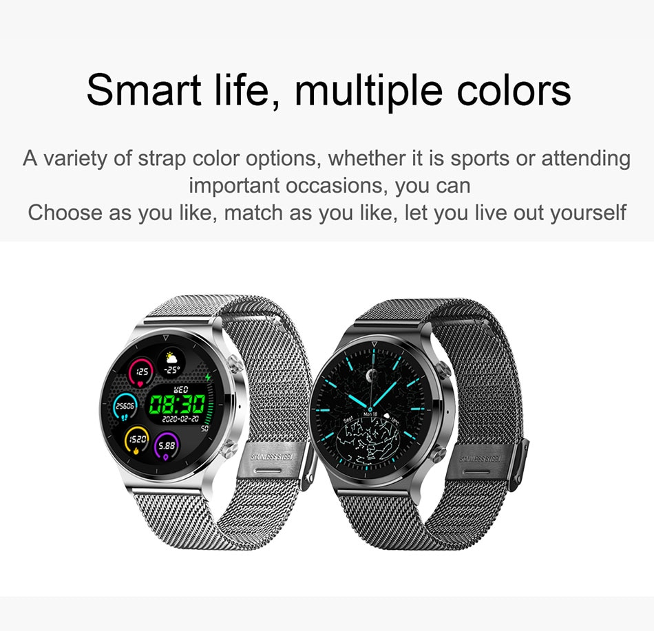 H41ca3409c4d842beacfa9a846df695edp - LIGE New Smart watch Men Heart rate Blood pressure Full touch screen sports Fitness watch Bluetooth for Android iOS smart watch