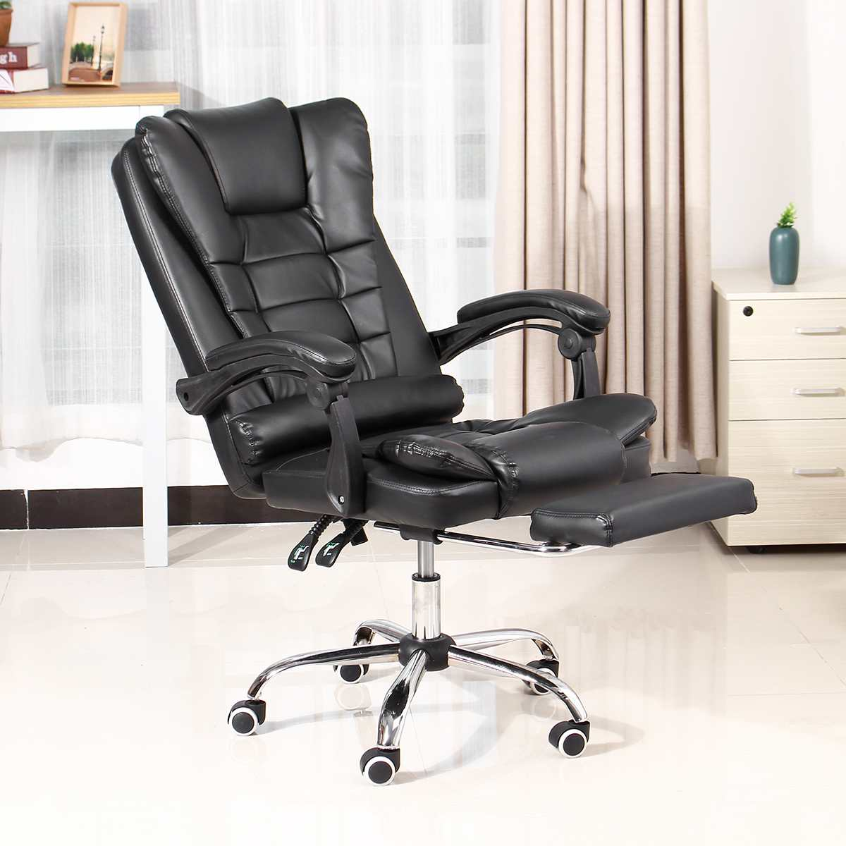 H4a3ed6d7e9294336b9f782a44bcaac46E - Office Chair WCG Computer Gaming Chair Reclining Armchair with Footrest Internet Cafe Gamer Chair Office Furniture Pink Chair