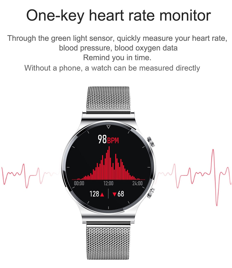H4b176a02c8fb48cfba69ed7e9e82d5943 - LIGE New Smart watch Men Heart rate Blood pressure Full touch screen sports Fitness watch Bluetooth for Android iOS smart watch