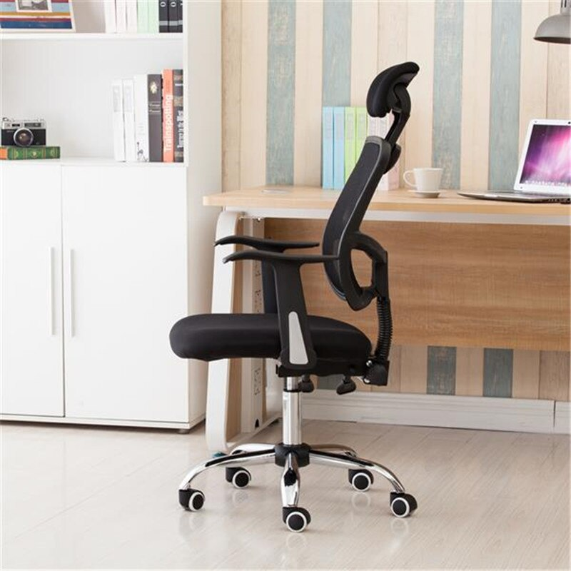 H4c83d7c004f84da2ad74121e32dc1f2aq - Home Office Chairs Household Armchairs Office Desks Computer Study Chair Leisure Mesh Chair-Reclining Home Office Furniture