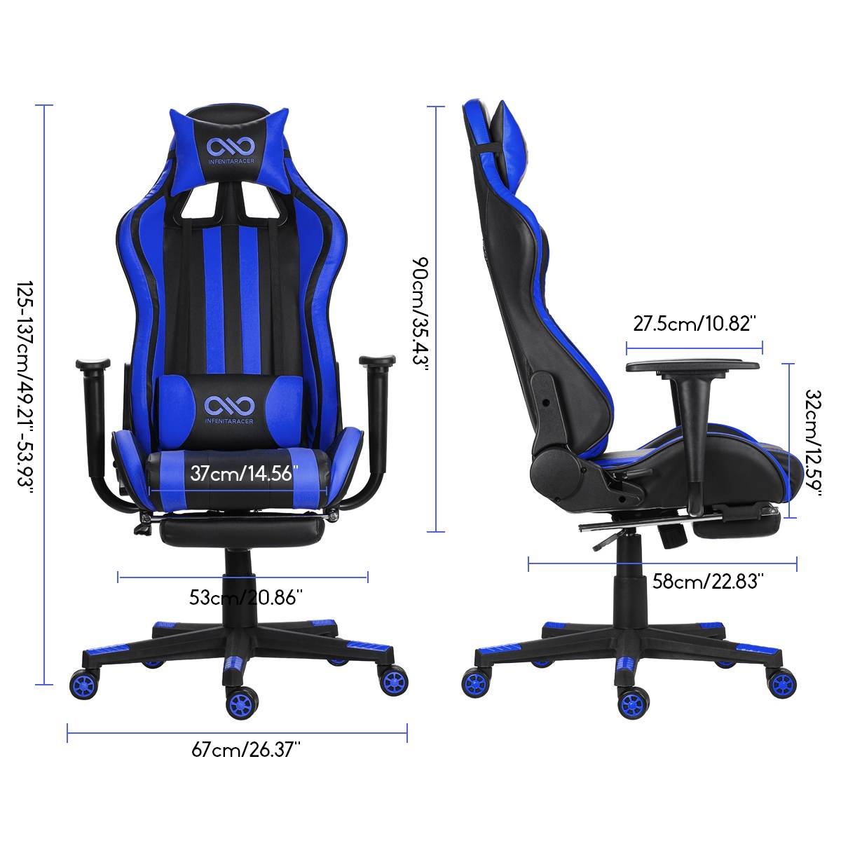 H4e2ee36f58f74846b3e21afda3369d89X - Office Gaming Chair PVC Household Armchair Lift and Swivel Function Ergonomic Office Computer Chair Wcg Gamer Chairs