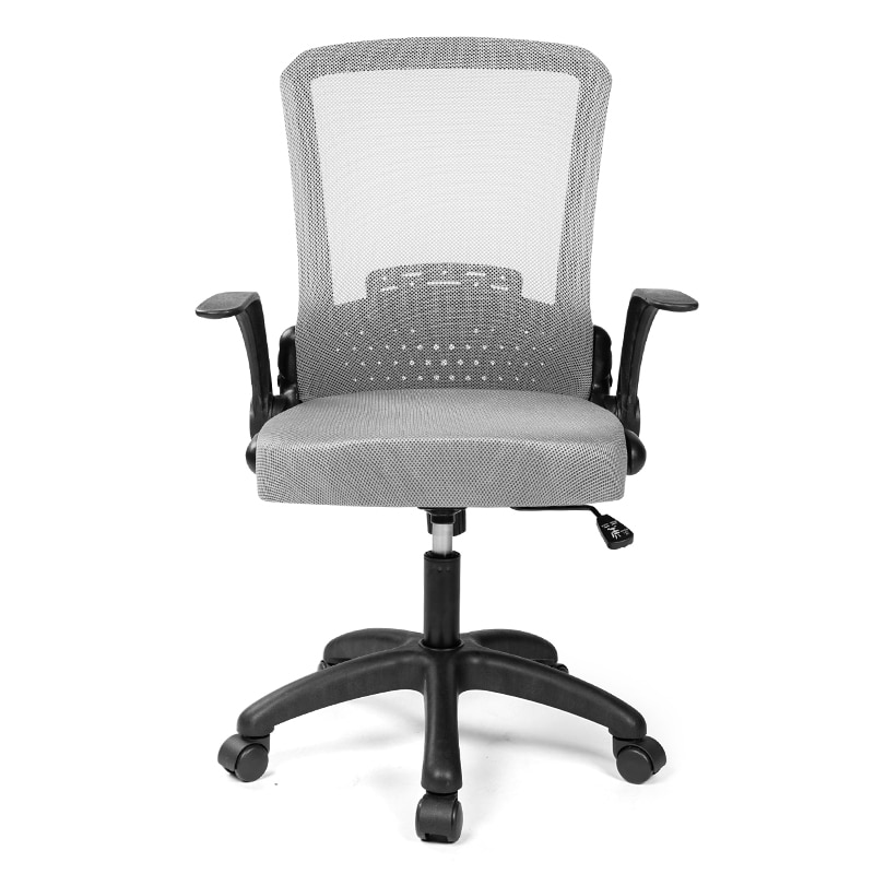 H515ab5238a66492887bdae93e8ad0fbdD - Rotating Mesh Chair Breathable Adjustable Height Foldable Computer Chair Ergonomic Executive Black Office Chair Furniture