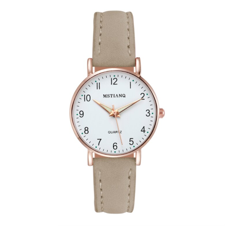 H5250ec7c539b47a1ade03f3ade2e47dbc - 2021 New Watch Women Fashion Casual Leather Belt Watches Simple Ladies' Small Dial Quartz Clock Dress Female Watch Reloj mujer