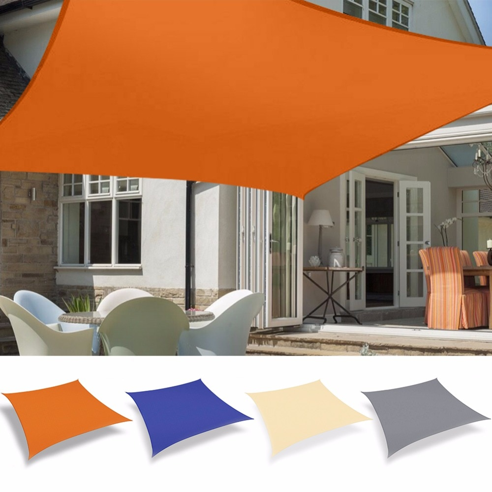 H563db3ae42804b62a6c156a1fd33f037e - 3x2M Waterproof Sun Shade Polyester Square Rectangle Shade Sail Garden Terrace Canopy Swimming Camping Hiking Yard Sail Awning
