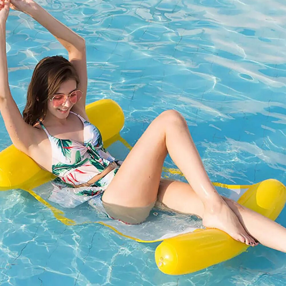 H56575557b0904c8e8d533780dd1388541 - 2021 New Water Hammock Recliner Inflatable Floating Swimming Mattress Sea Swimming Ring Pool Party Toy Lounge Bed for Swimming