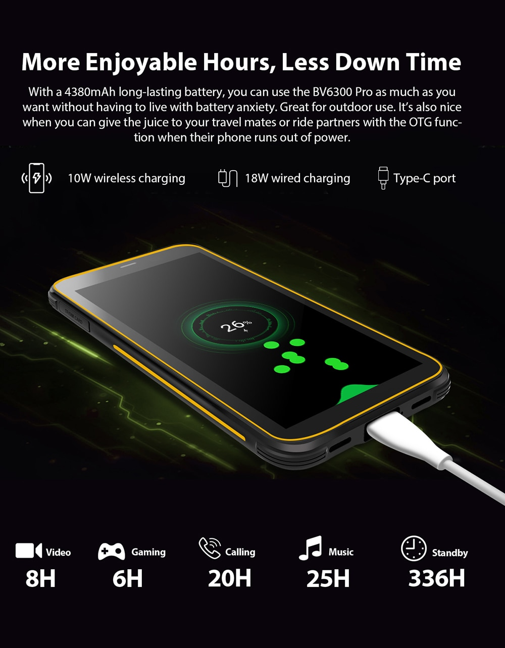 H573ac67eaf5e4ba9babc8e746b3d397cv - BLACKVIEW BV6300 Pro Helio P70 6GB 128GB Smartphone 4380mAh Android 10 Mobile Phone Quad Camere NFC IP68 Waterproof Rugged Phone