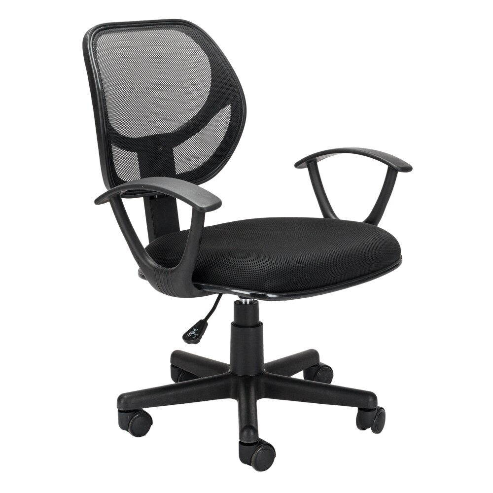 H591174efd38443b28994ef88fd519469t - Home Office Chair Household Armchair Lift and Swivel Function Office Computer Study Chair Leisure Mesh Chair-Reclining
