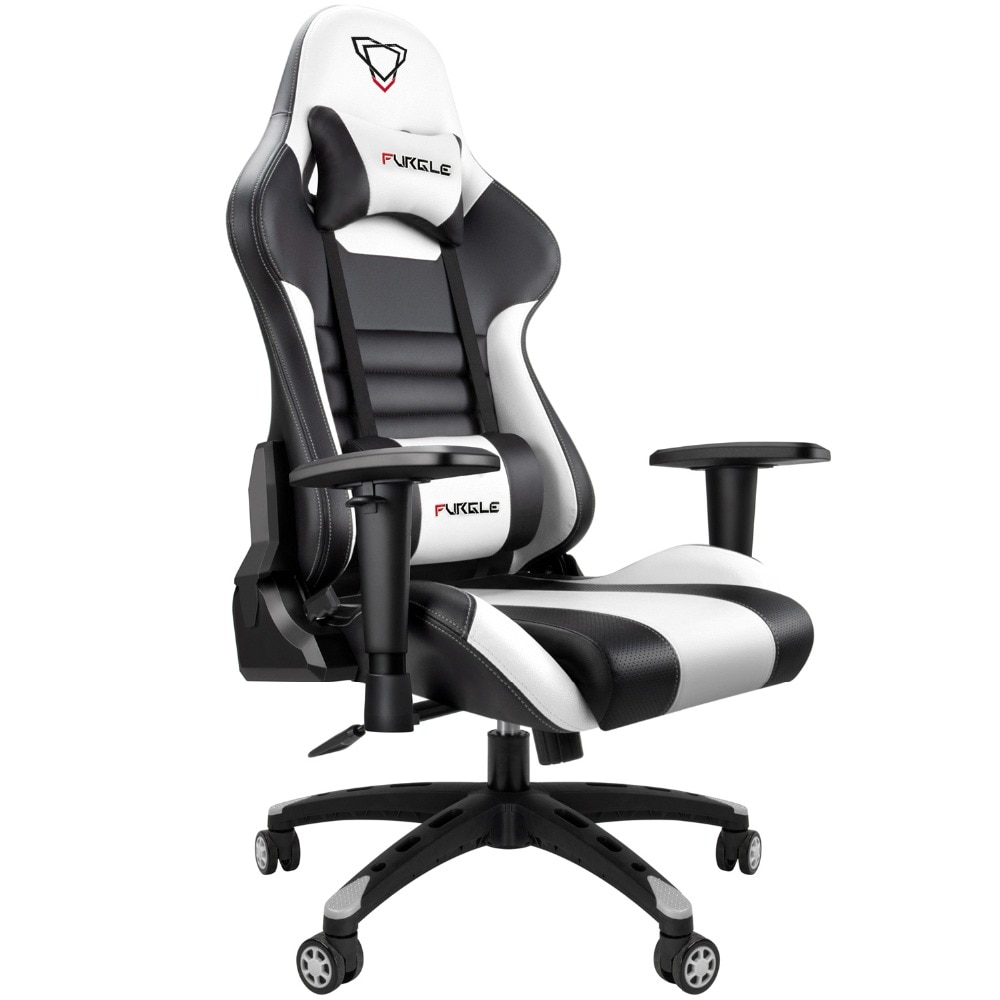 H5b5be4ce3b27441a8cccf1a08f2428dcb - Furgle Gaming Office Chairs 180 Degree Reclining Computer Chair Comfortable Executive Computer Seating Racer Recliner PU Leather