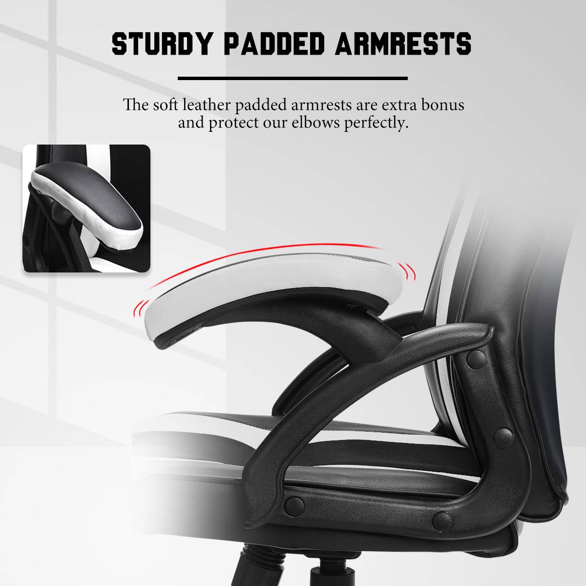 H5bb4cba25cac4de4804cf0acc31d7654P - Gaming Office Chairs Executive Computer Chair Desk Chair Comfortable Seating Adjustable Swivel Racing Armchair Office Furniture