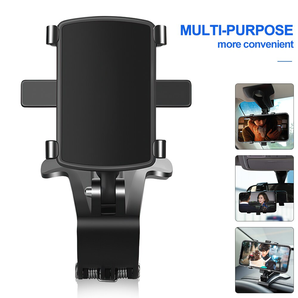 H5eb7c29daa1f46c98f2d39a365e03773l - TRAVOR Phone Holder Adjustable Stand Car Phone Holder Clip Waterproof Bracket Bicycle Handlebar Mobile Support Mount Phone Stand