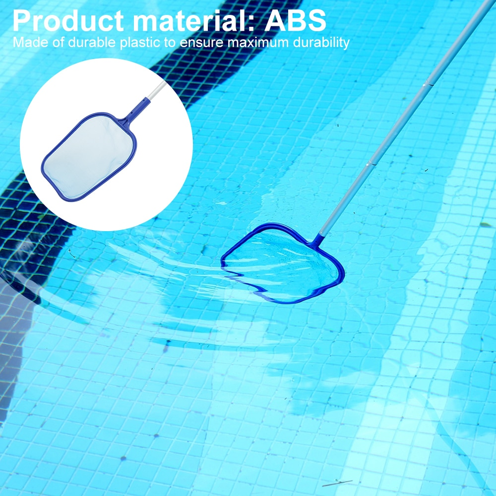 H5f8ce4e52d48436ba1ddf2e591d469cb2 - Swimming Pool Vacuum Cleaner Cleaning Tool Kit Suction Spary Jet Cleaner Head with Net for Swimming Pool Spa Pond Fountain