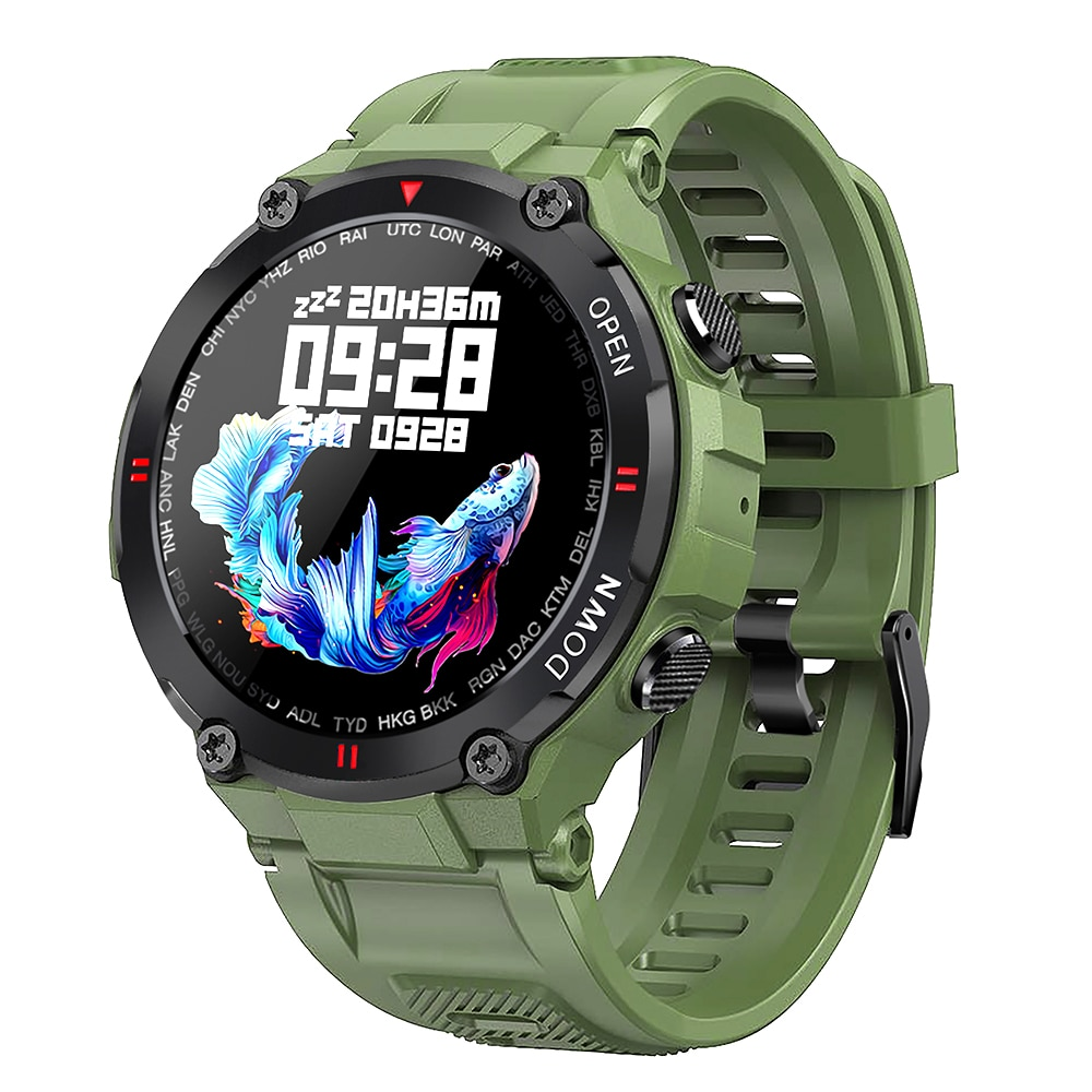 H61a82081b0d245cda9555b7926f9b4fey - 2021 New Smart Watch Men Sport Fitness Bluetooth Call Multifunction Music Control Alarm Clock Reminder Smartwatch For Phone