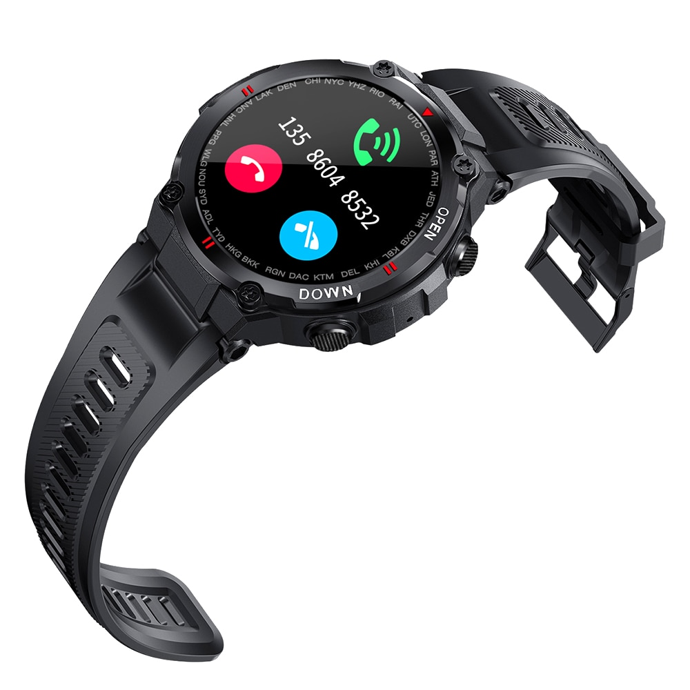 H63ad65af4b1b4207aa799d8ec393d3bcW - 2021 New Smart Watch Men Sport Fitness Bluetooth Call Multifunction Music Control Alarm Clock Reminder Smartwatch For Phone