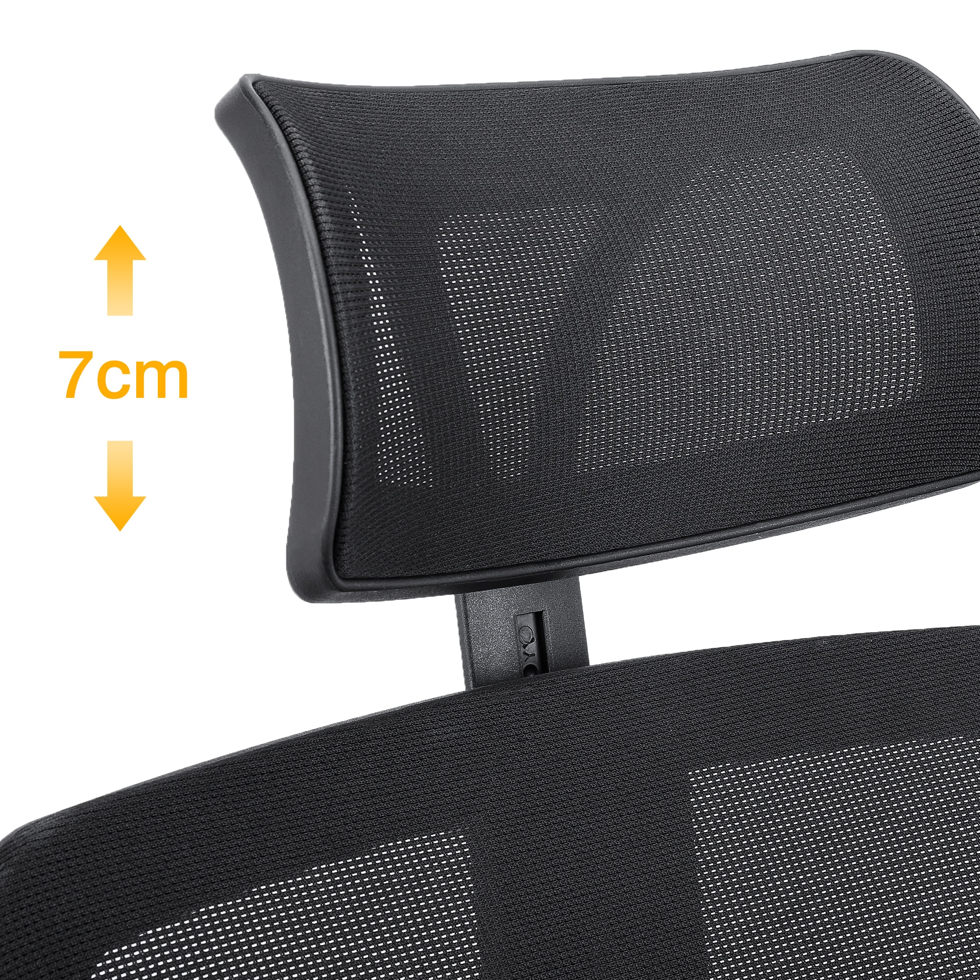 H65d83a21d6674d19af607079f065eec6Z - Sigtua Black Mesh Office Chair Ergonomic PC Chair Height-adjustable Executive Chair Desk Chair Swivel Office Computer Chair