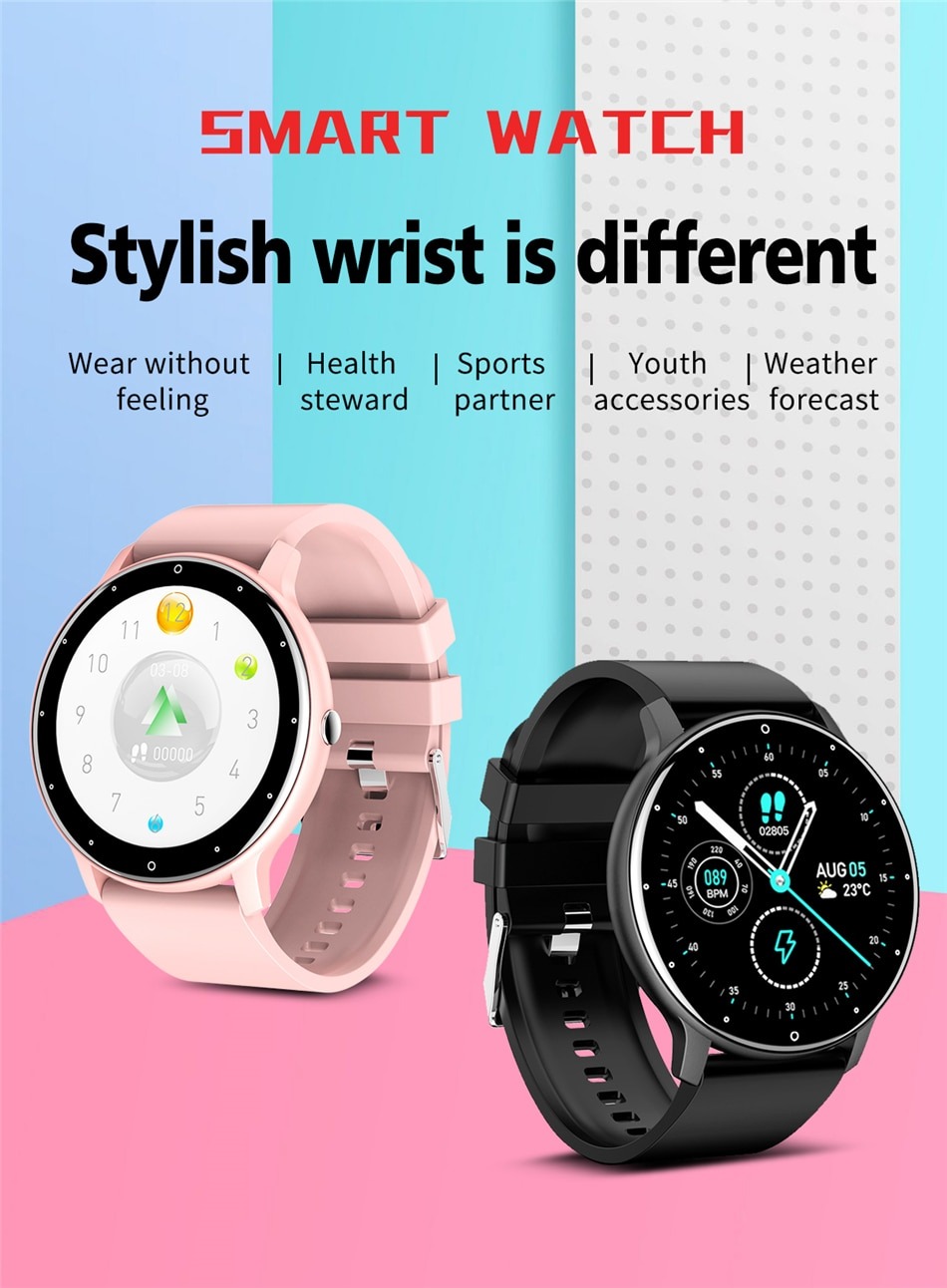 H669025855fee4503ba437b6b4b6b1df8y - LIGE 2021 New Smart Watch Men Full Touch Screen Sport Fitness Watch IP67 Waterproof Bluetooth For Android ios smartwatch Men box