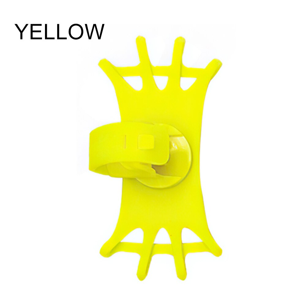 H67443a1709ce4d23a2691b5d02b658e4N - Bike Phone Holder Silicone Phone Mount Universal for Bicycle Motorcycle Handlebar Stretchy Phone Holster with 360 Rotation