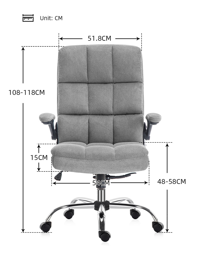 H6dcd889413e84092b6641363827a95af9 - Yamasoro ergonomic Office Chair Fabric Computer Chair desk High Back Adjustable Hight with Movable Armrest gaming chair for home