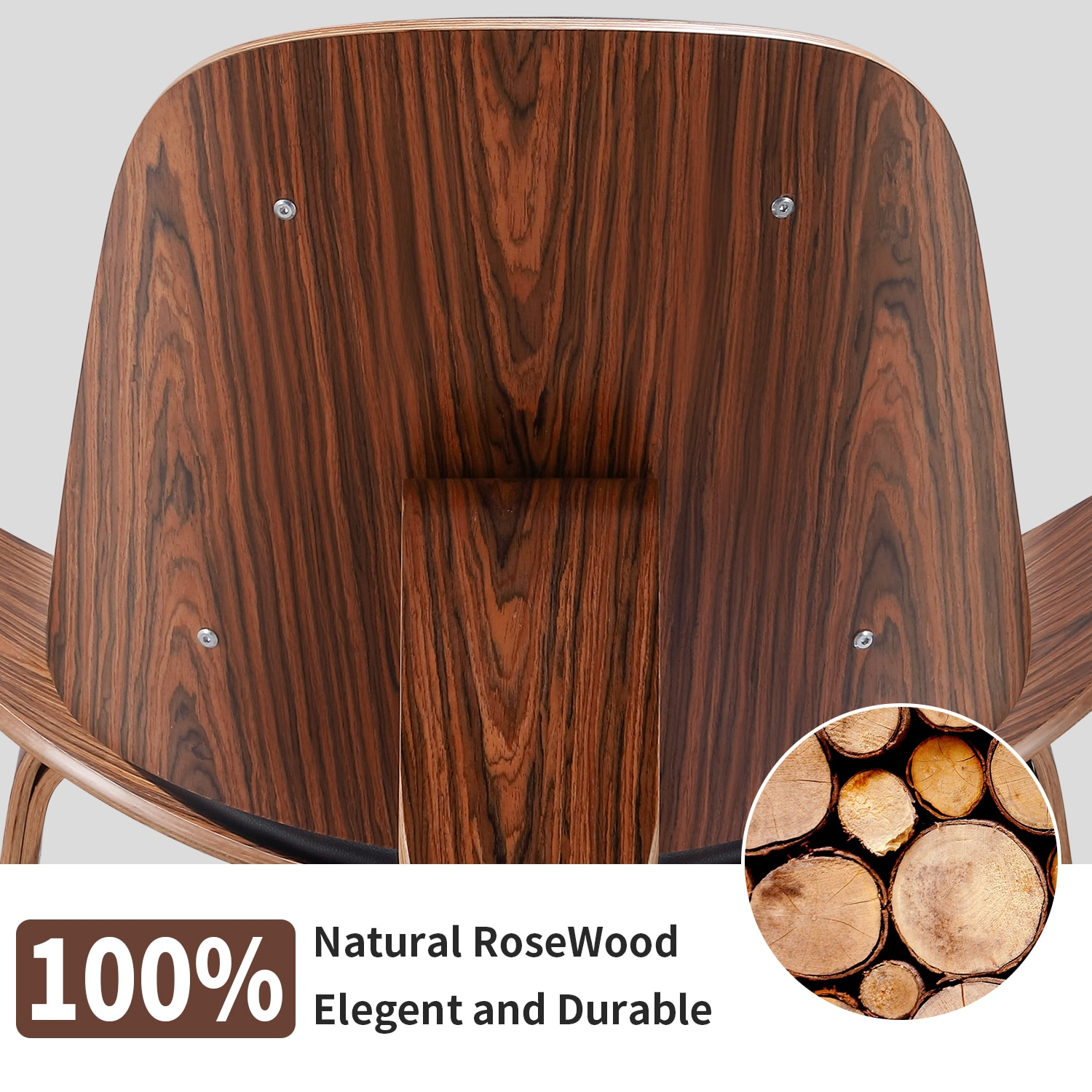 H6de9a9400be7488b986778bfc69f6dbcm - Design Furniture Bentwood Chair Hands Wegner Replica Lounge Chair with PU Leather Seat Comfort Cushion Coffee Chair Office Chair