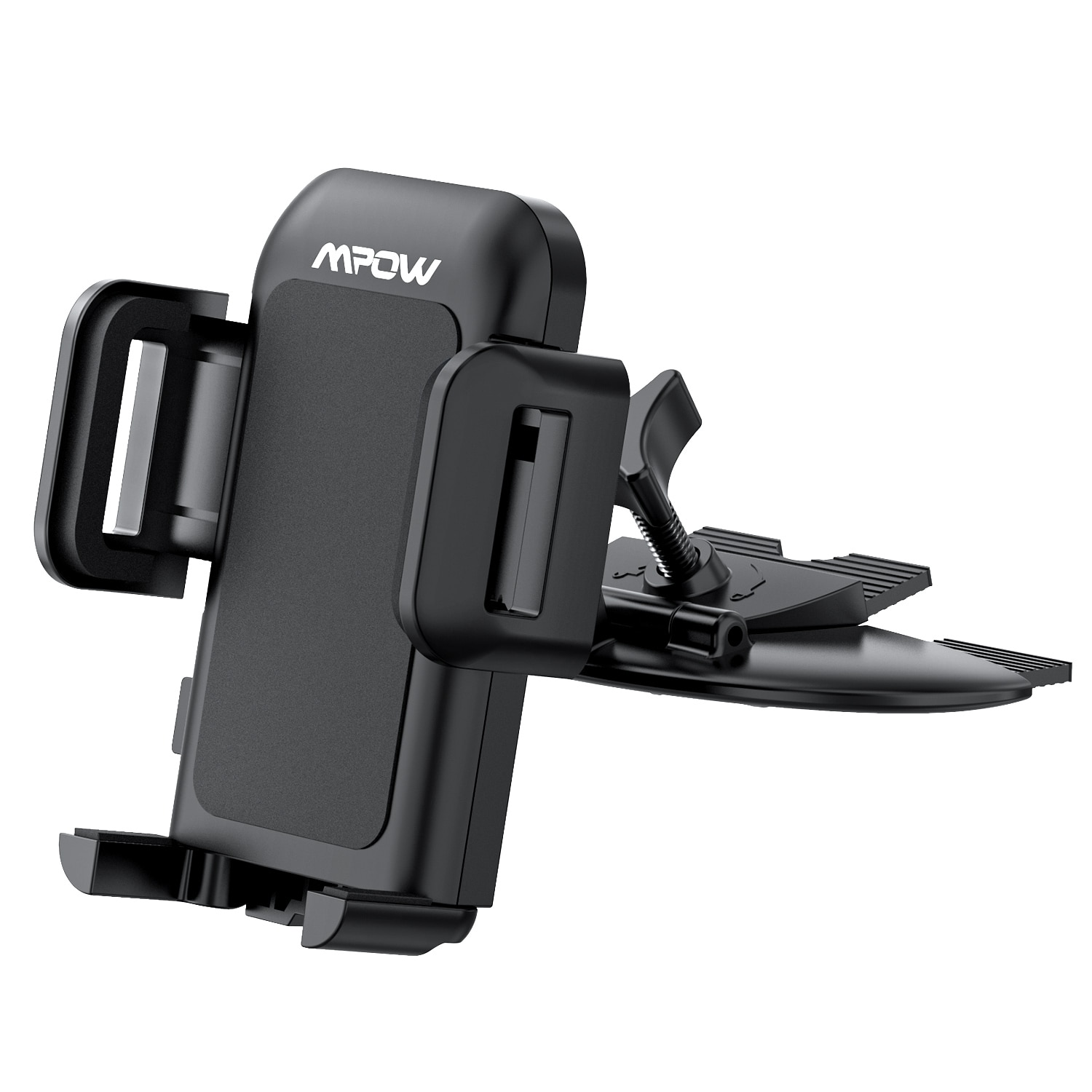 H6e9060f399fb45ff849cf5a0b14820517 - Mpow 051 Car Phone Holder CD Slot Car Phone Mount with Three-Side Grip and One-Touch Design for iPhone 12/12Mini/12Pro/12Pro Max