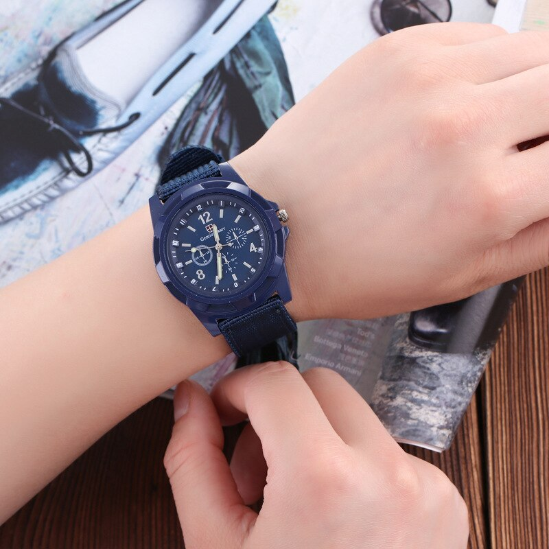 H6ef5f08a35da4aa8a9f09d6ba5a181a5u - Men Army Watch Nylon Military Male Quartz Watches Fabric Canvas Strap Casual Cool Men's Sport Round Dial Relogios Wristwatch